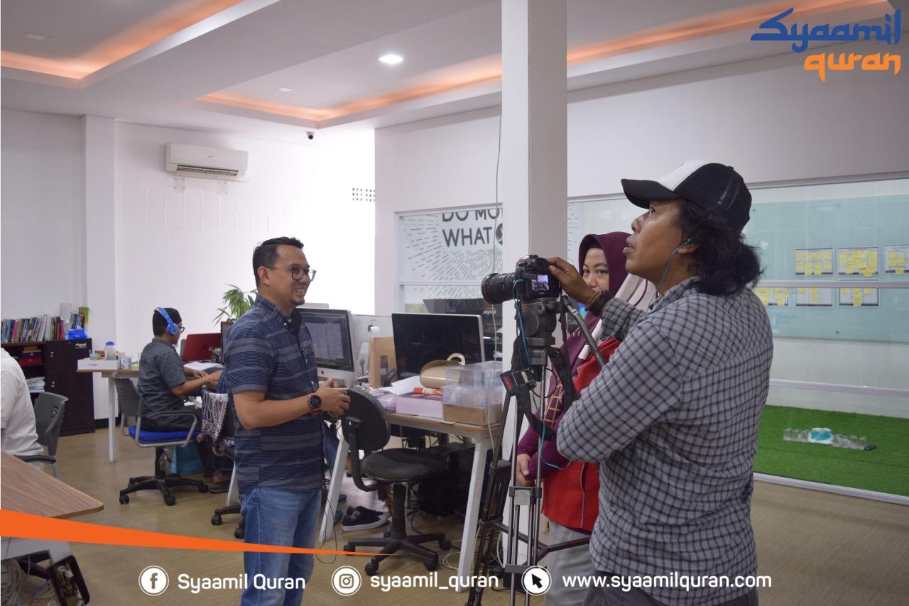 TV ONE Liput Proses Produksi Mushaf Al-Qur'an di Syaamil Quran