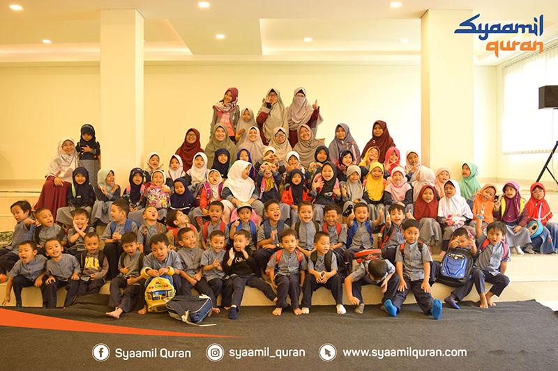 Kunjungan Wisata Quran dari Adik-adik KOBER (Kelompok Bermain) Al-Hafidz