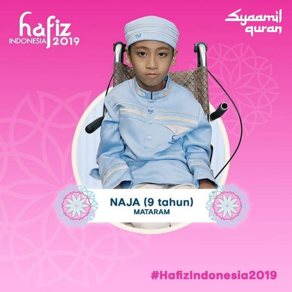 biografi naja hafiz indonesia 2019