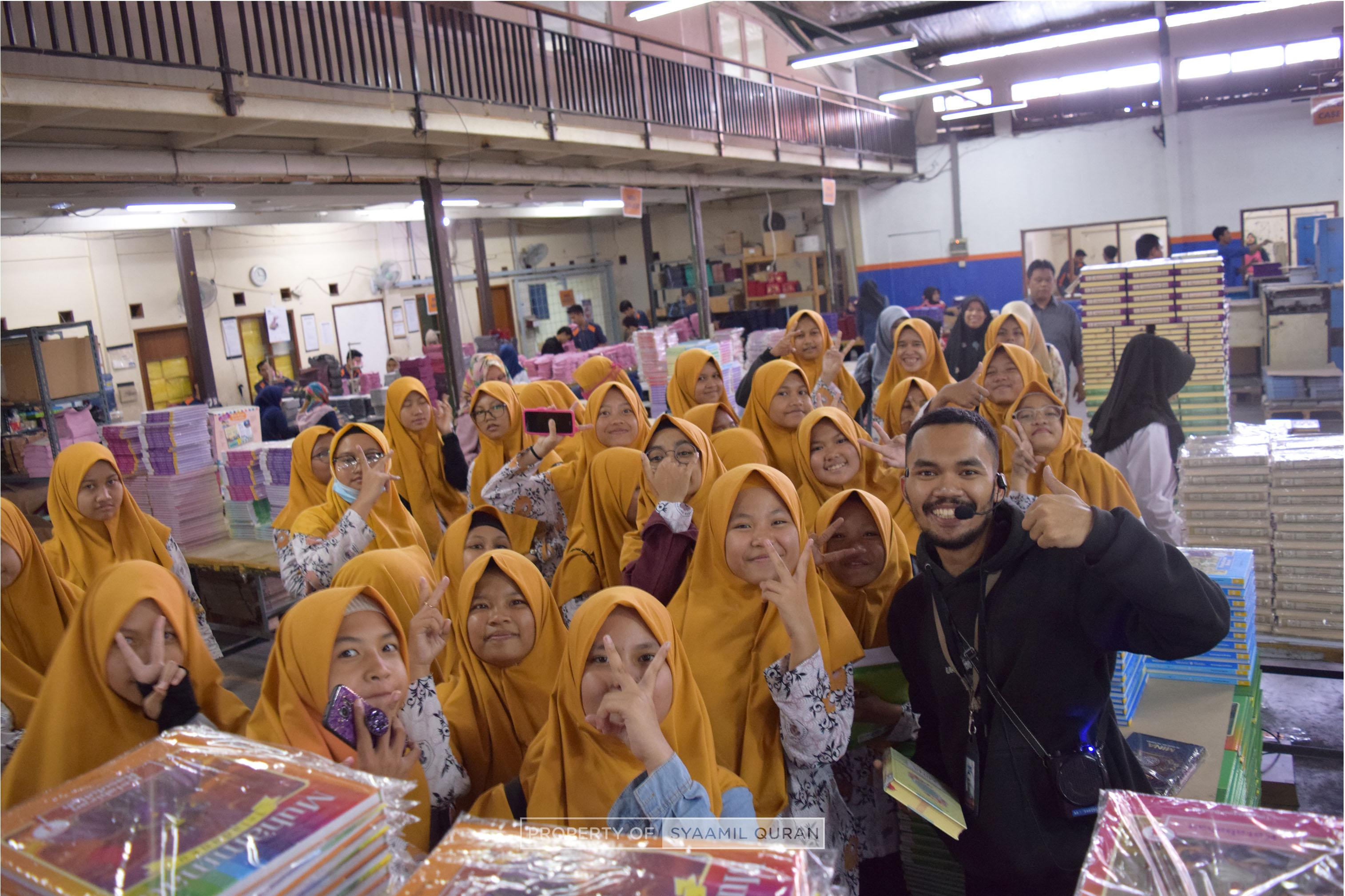 Syaamil Quran Menjadi Destinasi Outing Class SMPIT Raflesia