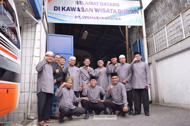 Kunjungan Ketua Umum MUI Kabupaten Kampar Riau, Dr. H. Mawardi Muhammad Saleh, MA