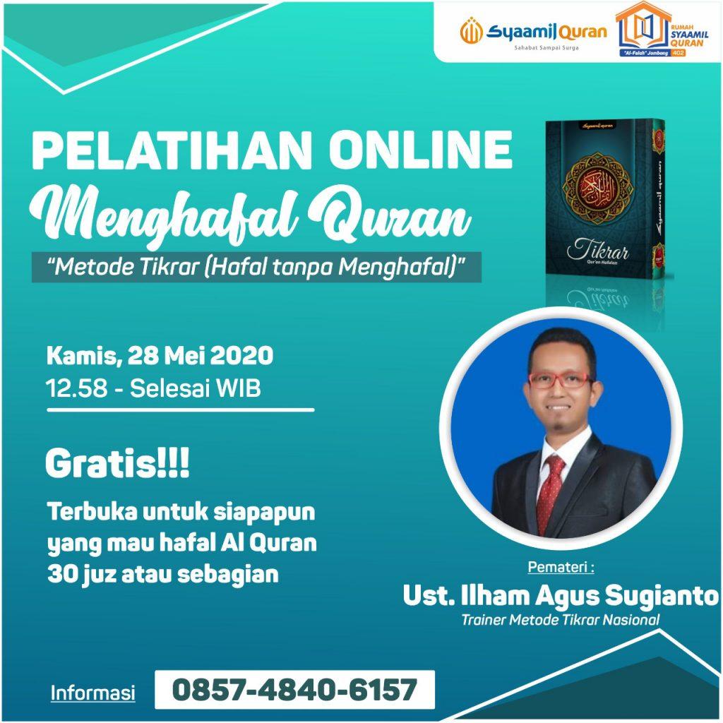 Masya Allah, Pelatihan Online Menghafal Al-Quran ini Diikuti oleh Peserta dari Luar Negeri