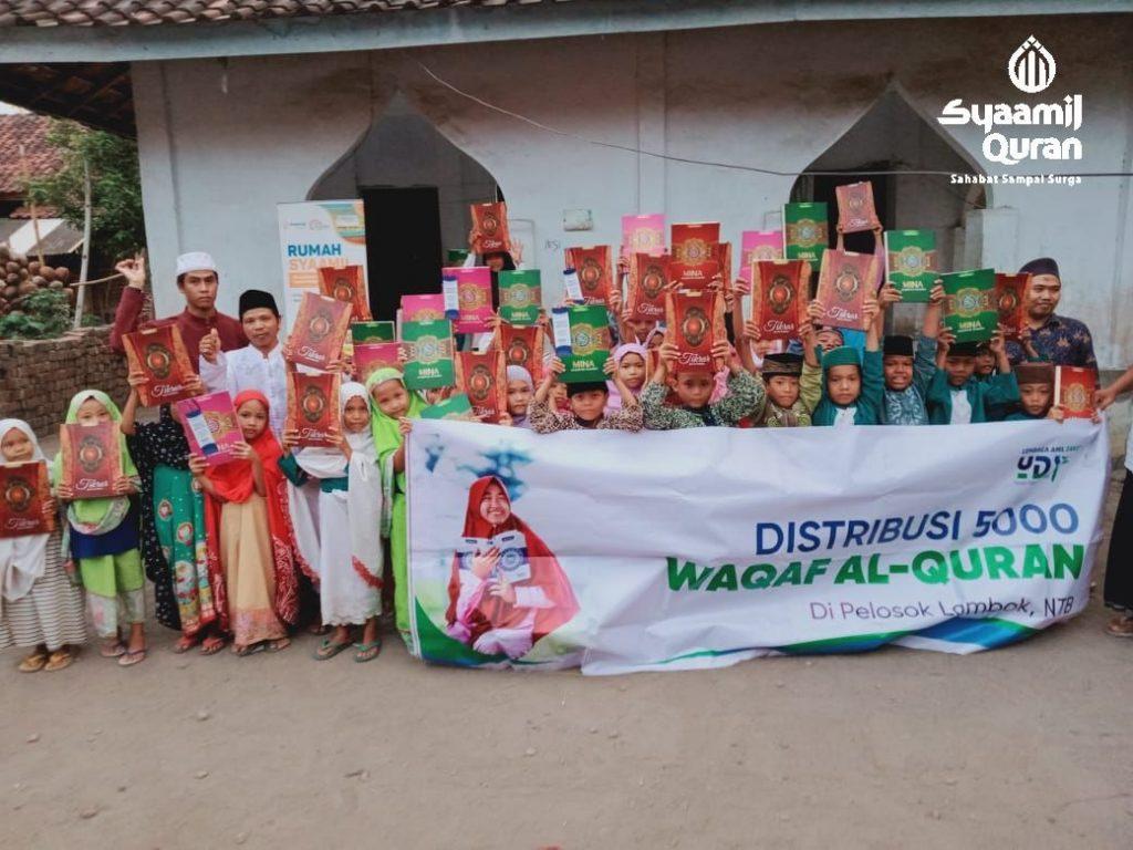 RSQ Ar Rayyan Salurkan Wakaf Quran ke Pedalaman dan Pulau Terpencil NTB2