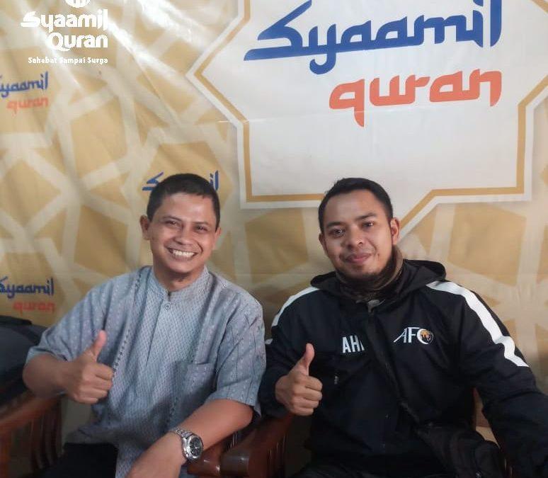 Inspiratif! Pelatih Sepakbola Bersertifikat AFC Ini Bergabung Menjadi Mitra Syaamil Quran