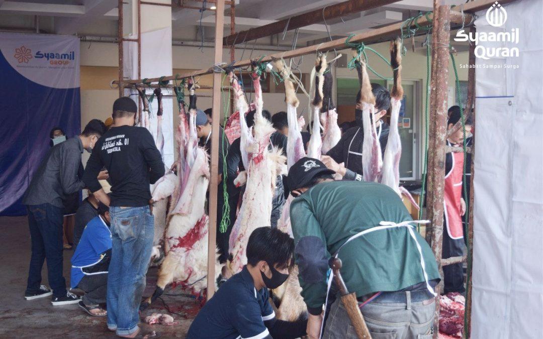 Dengan Semangat Berbagi, Syaamil Group Rayakan Idul Adha di Tengah Pandemi