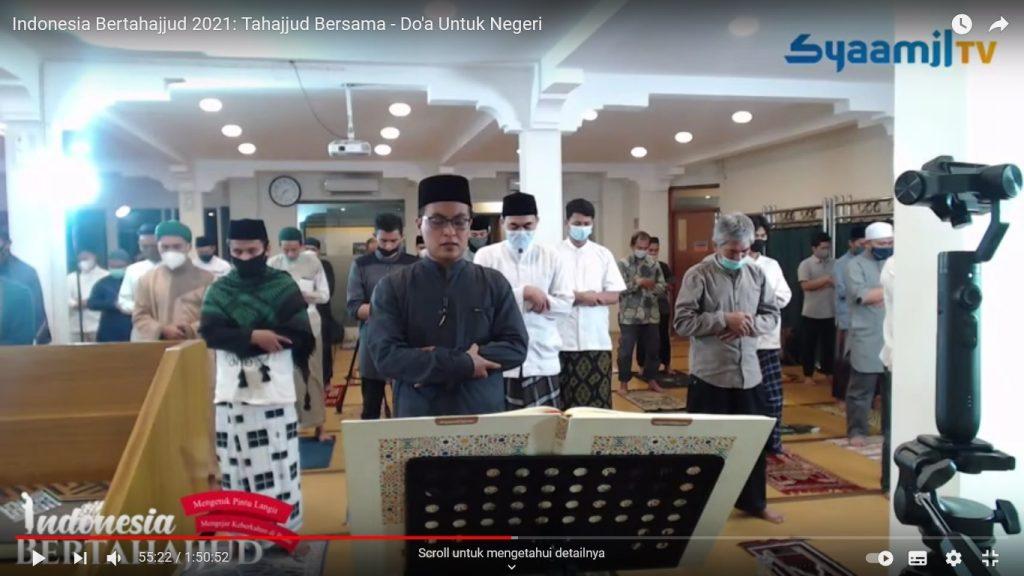 Syaamil Quran Hadirkan Gerakan Indonesia Bertahajjud Serentak. Sekaligus Launching Mushaf Tahajjud.
